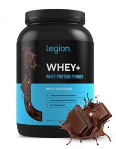 Legion Athletics Whey+ Chocolate Whey Isolate Protein Powder