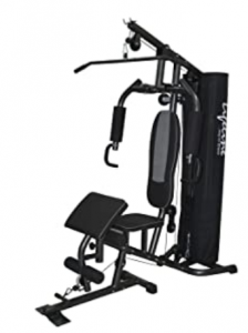Lifeline Home Gym Deluxe with Cover & Preacher Curl