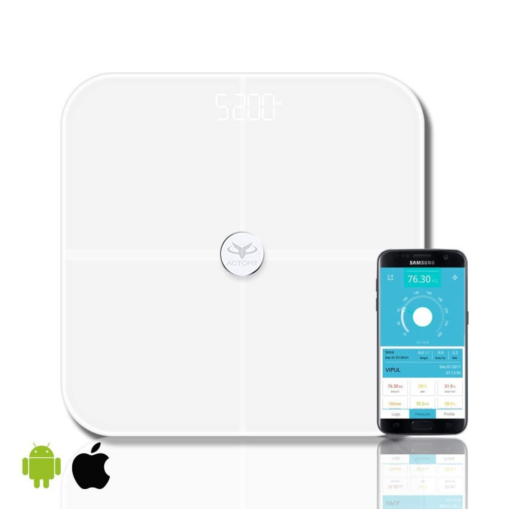 Actofit Body Fat Analyser Smart Scale