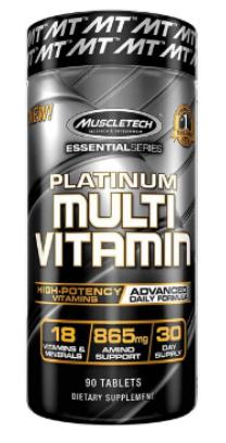 Muscletech Essential Series Platinum Multivitamin