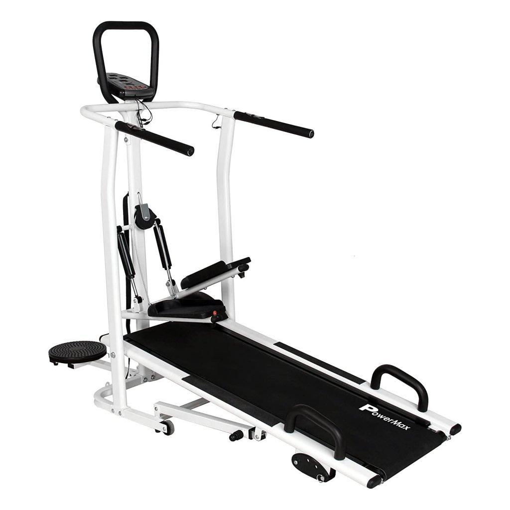 PowerMax Fitness MFT-410 Manual Treadmill
