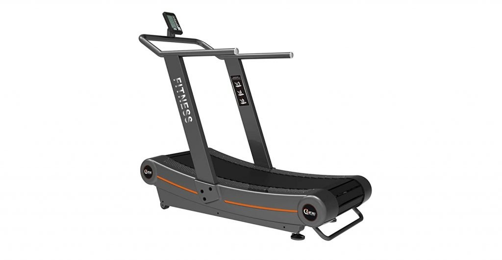 Qline by Cockatoo Racer-1 Curved Treadmill