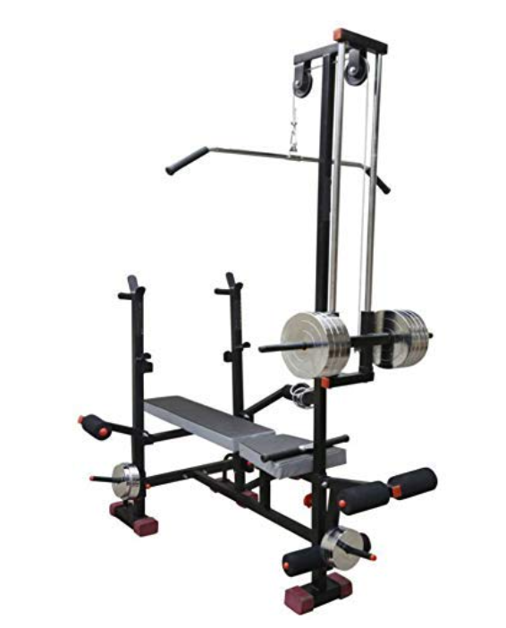 GOLD FITNESS Muscle Gaining Multipurpose 20 in 1 Bench Gym Equipment