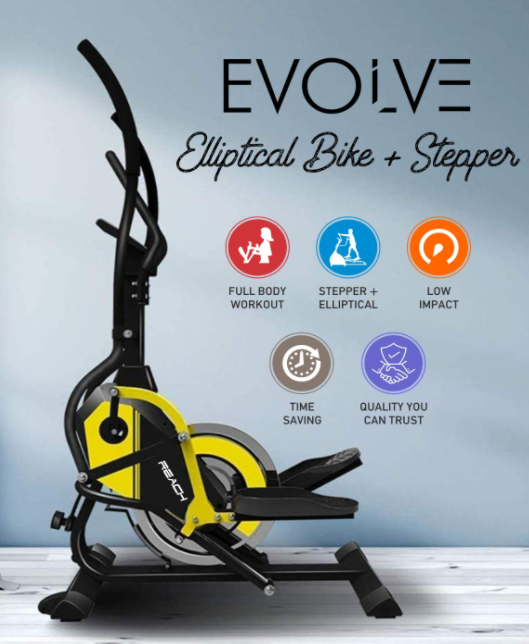 Reach Evolve Elliptical Climber Cross Trainer + Stepper